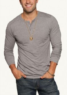 70 Best Choice Henleys Shirt for Men https://fasbest.com/70-best-choice-henleys-shirt-men/