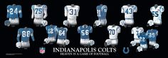 Indianapolis Colts | Indianapolis Colts Uniform and Team History | Heritage Uniforms and ...