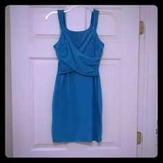 Victoria's Secret Dress Blue short dress. Worn once on my honeymoon and didn't fit me well Victoria's Secret Dresses Mini
