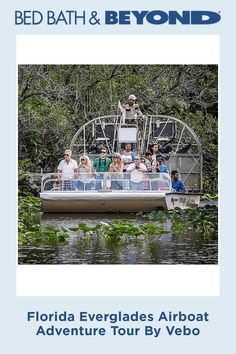 Florida Everglades Airboat Adventure Tour By Vebo