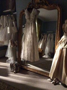 Elizabeth Avey vintage bridal boutique Greenwich London