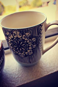 DIY Mugs. For errors, use a Q-tip and nail polish remover. Then bake at 350 for 30 minutes.
