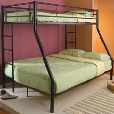 Simple Idea Bunk Bed For Three Kids