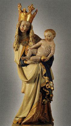 Bohemia, Virgin and Child, c.1393. [Prague] |