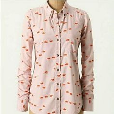 I just discovered this while shopping on Poshmark: BOGO 50% OFF Anthropologie mouse button up  XS. Check it out! Price: $28 Size: XS