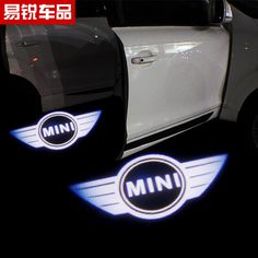 Find More Lights & Indicators Information about Free shipping Mini Cooper Car modification Super COOL LED Mini logo door lights high key projector,High Quality projector led,China lights backyard Suppliers, Cheap light g4 from Wheel hub cover on Aliexpress.com