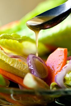 NYT Cooking: A generous spoonful of Dijon mustard makes this vinaigrette creamy and tart. Use the dressing with sturdy salad greens like romaine or with softer lettuces like Bibb lettuce or oak leaf. The dressing is too strong to work with baby salad greens or mesclun. It's also great with cooked vegetables like beets or broccoli and with grain salads.