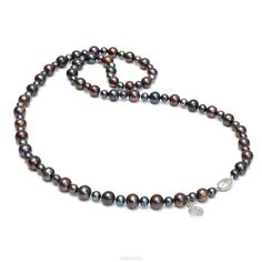collana di perle di bellezza colori pavone nasonpearl 1436 OZON.ru acquistare in…