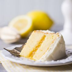 Perfect for a smaller get-together, with tons of luscious lemon in every bite!