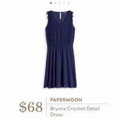 Nwt Stitchfix Brynna Crochet Detail Dress Size Xs