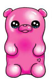 Don't eat me pls 🤣 Kawaii Girl Drawings, Emoji Drawings, Cute Disney Drawings, Cute Animal Drawings Kawaii, Cute Easy Drawings, Cute Cartoon Drawings, Cute Kawaii Girl, Kawaii Art, Kawaii Doodles