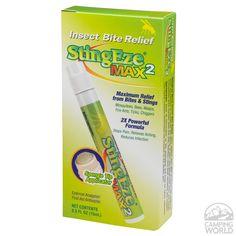 StingEze Max2 Insect Bite Relief, 0.5 oz.