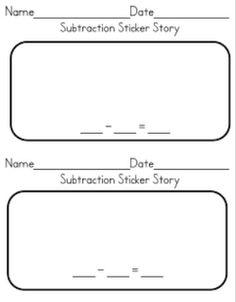 Sticker Story {Freebie}