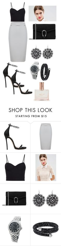 """Untitled #285"" by miiirrra ❤ liked on Polyvore featuring Dsquared2, WtR London, Alexander Wang, ASOS, Gucci, NOVICA, Rolex, Swarovski and Aéropostale"