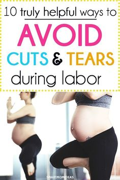 Prevent tearing during childbirth with these life-saving tips. Maybe you're pregnant with your first baby and dread the idea of tearing. Maybe you've already experienced tearing in childbirth….and want to avoid tearing again! Baby Kicking, Future Maman, First Trimester, Third Trimester Workout, After Baby, Pregnant Mom, Being Pregnant, Pregnant Fitness, First Time Moms