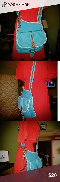 RELIC crossbody bag Corduroy crossbody bag pre-loved but it like new condition relic  Bags