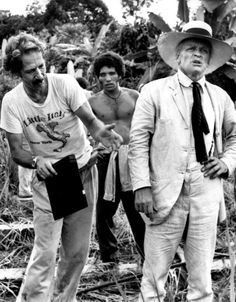 Werner Herzog & Klaus Kinski on the set of Fitzcarraldo