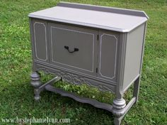 Under The Table and Dreaming: Dressing Up The Console {with Mythic Paint}