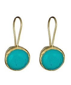 Betty Carre Turquoise Drop Earrings - Max and Chloe