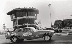 DICK HARREL's COURTESY CHEVROLET CAMARO Funny Car at OCIR