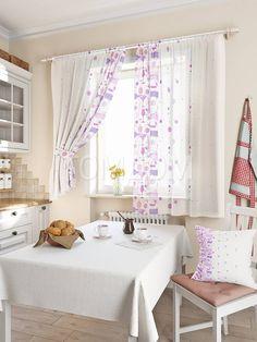 """Комплект штор """"Кринс (фиолет)"""": купить комплект штор в интернет-магазине ТОМДОМ #томдом #curtains #шторы #interior #дизайнинтерьера"""