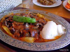Iskender Kebabı, Patnos, Ağrı, Turkey - iskender kebab ! Taken - and eaten - by Turkey's for Life when they visited eastern Turkey