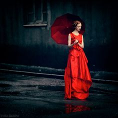 Color tales project. Red series by Anka Zhuravleva - ego-alterego.com