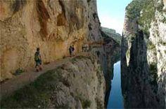 Excursions amb nens - El congost de Mont-rebei