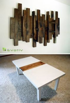 for the love of reclaimed wood   In the Meantime: Reclaimed Wood Furniture & Decor by Evotiv