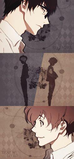 ZnT | Zankyou no Terror | Terror in Resonance | Twelve & Nine | Shinichiro Watanabe | Anime | Fanart | SailorMeowMeow