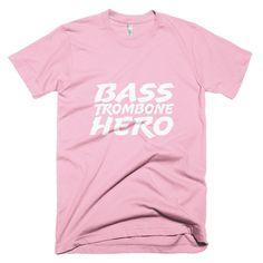Bass Trombone Hero, Short sleeve men's t-shirt
