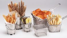 Bread Baskets | Serving Baskets | French Fry Cones | Catering Supplies