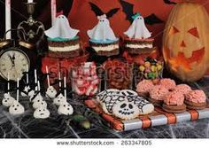 Image result for halloween buffet table