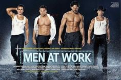 Magic Mike, OH YES, Magic Mike. (Matt Bomer, Channing Tatum, Joe Manganiello and Matthew McCognahy.