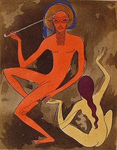 Hassan Badreddine el bass Raoul - Kees van Dongen illustration for Tale of the Thousand and One Nights, J. Henri Matisse, Modern Artists, French Artists, Maurice De Vlaminck, Raoul Dufy, House Painter, Great Works Of Art, Georges Braque, Found Art