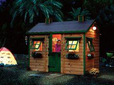 """Casetta per bambini """"Caserio"""" playhouse~Image via Casas Green House"""