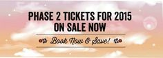 Phase 2 tickets on sale now Star Festival, Phase 2, Stars