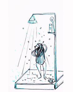 . Take A Shower, Snoopy, Fictional Characters, Bathroom, Instagram, Art, Washroom, Art Background, Full Bath