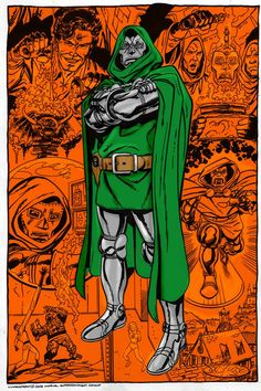 Doctor Doom (Dr. Victor Von Doom) | art by John Byrne