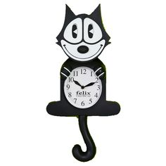 Felix the Cat Wall Clock was the 1st wall clock I bought when setting up housekeeping in 1963..it hung in my kitchen… loved it.
