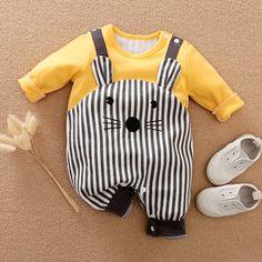 Animal Cotton One-piece Baby Cartoon Baby Boy, lambkingo Baby Girl Birthday Dress, Baby Boy Dress, Baby Boy Fashion, Toddler Fashion, Kids Fashion, Baby Outfits Newborn, Baby Boy Outfits, Kids Outfits, Wholesale Baby Clothes