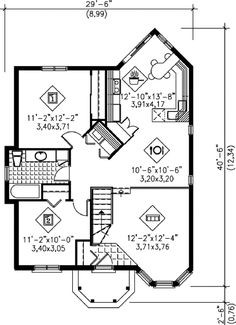7 lovely floor plans for tiny European-inspired homes