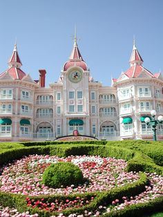 Disneyland Hotel Paris. I have stayed in this hotel and it's really beautiful. Best holiday ever !!!