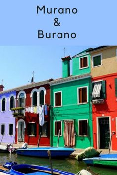 Murano and Burano both make for a nice day trip from Venice - islands full of colour and rich in history. Click through for my guide on visiting these two beautiful islands in Venice Sorrento Italy, Naples Italy, Sicily Italy, Venice Italy, Venice Lido, Calabria Italy, Sardinia Italy, Venice Travel, Italy Travel