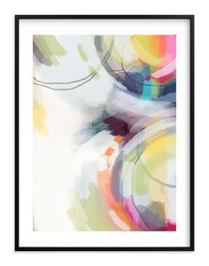 """happy dance"" - Art Print by Alison Jerry Designs in beautiful frame options and a variety of sizes."