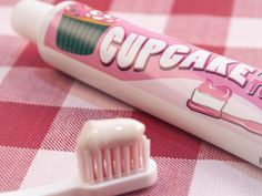 Cupcake Toothpaste.. is it low calorie?  ;-)