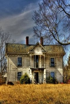 Abandoned house - unknow location ~ With optimal health often comes clarity of thought. Click now to visit my blog for your free fitness solutions!