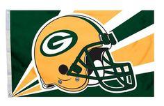 Green Bay Packers Flag Flag 3x5 Helmet Z157-2324594216