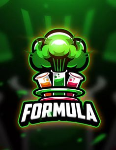 Formula - Mascot & Esport Logo by aqrstudio on Envato Elements Team Logo Design, Mascot Design, Joker Logo, Fantasy Logo, Esports Logo, Sports Team Logos, Game Logo, Logo Sticker, Logo Concept