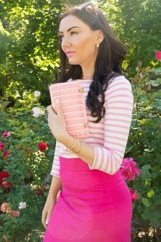 Think pink! Think Pink! Ladylike outfit inspiration